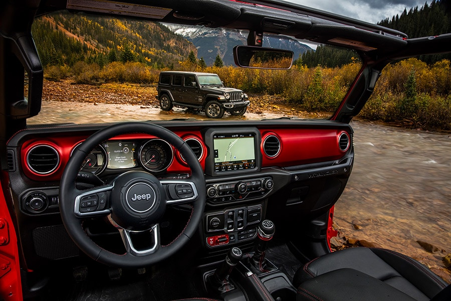 Jeep Wrangler Rubicon Interieur