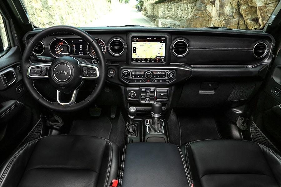 Jeep Wrangler Sahara Interieur